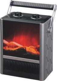Electric Fireplace Heater with LED Flame pictures & photos