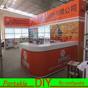 DIY Portable Easy-Assembly and Dismantle Modular Green Exhibition Booth pictures & photos