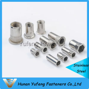 Stainless Steel Rivet Nut Countersunk /Flat /Hexagon Rivet Nut pictures & photos