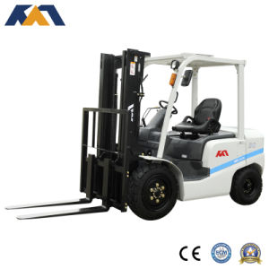 Internal Combution 3.5ton Diesel Manual Hydraulic Forklift with Isuzu Engine pictures & photos