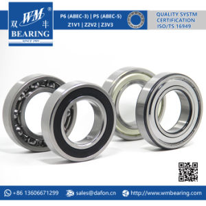 Automobile Parts Motorcycle Rolling Deep Groove Ball Bearing (6210 Z/ZZ/RS1/2RS/2RZ/DDU) pictures & photos
