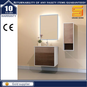 Modern Floor Mounted Melamine Bathroom Cabinet Unit with Leg pictures & photos