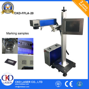 Manufactory Device Name Fiber Laser Printing Machine on Plastic Products pictures & photos
