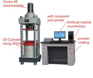 Stye-2000e Full Automatic Material Compression Testing Machine pictures & photos