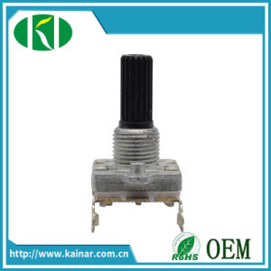 16mm Rotary Encoder with Bracket Insulated Shaft Ec16-2 pictures & photos