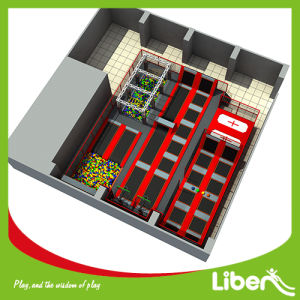 Indoor Trampoline with Slam Dunk for Shopping Mall pictures & photos
