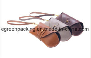 High Quality Fashion Soft PU Leather Eyeglasses Sunglasses Case (DS7) pictures & photos