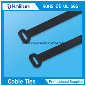 304 Stainless Steel PVC Coated O Lock Cable Tie pictures & photos