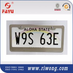 Wholesale Metal Auto License Plate Frame with Screws and Caps pictures & photos