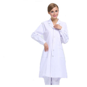 High Quality Hospital Uniforms /White Unisex Lab Coat pictures & photos