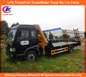 Rhd FAW Truck-Mounted Crane 6tons Telescopic Crane Truck pictures & photos