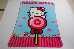 Super Soft Flannel Blanket with Candy Crush / Baby Blanket pictures & photos