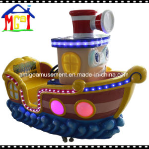 Kids Fiberglass Swing Bus Coin Operated Kiddie Ride pictures & photos