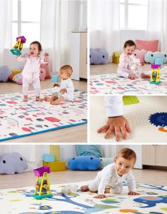 Baby Play Mat Stitching Style Lock Safety Material Practice Crawling for Baby 08d7 pictures & photos