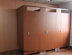 Contemporary Waterproof Nylon Fitting Toilet Cubicle Partition pictures & photos