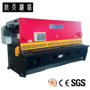 QC12Y-8X4000 Hyrualic Swing Beam Shearing and Cutting Machine pictures & photos