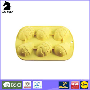 Silicone Easter Festival Egg Bake Tray pictures & photos