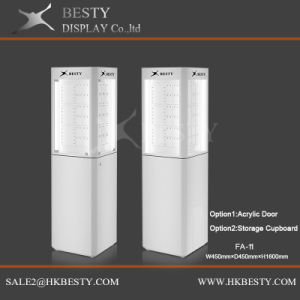 Jewelry Tower Display Showcase with LED Light pictures & photos