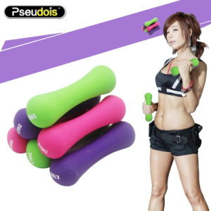 Eco-Friendly Bone Shape Rubber Material Dumbell pictures & photos