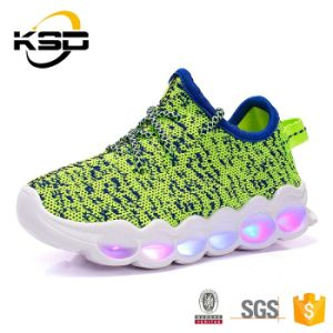 New Product Custom Glow Casual Shoes Fashion Best Quality LED Party Dance Shoes Olympic