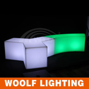 RGB Illuminated LED Light Chair Outdoor and Indoor LED Seat pictures & photos