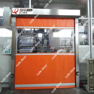 Fast Clean Room Rolling Door High Speed Interlock Door pictures & photos