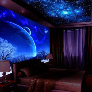 Customized Design Latest Fashionable Full Color Stretch Ceiling Film Printing pictures & photos