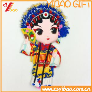 Custom Beijing Opera Character Fridge Magnet (YB-HR-6) pictures & photos