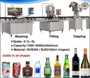 Complete Small Mineral Water Bottling Plant pictures & photos