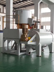 Ce SRL-Z500/1000W Horizontal PVC Powder Plastic Mixer Machine