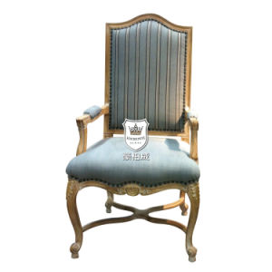 Distressed Washed Oak Hotel Throne Chairs pictures & photos