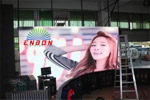 Outdoor P5.95mm Portable for Advertising Video Rental LED Display pictures & photos