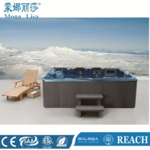 3 Meters Blue Rectangle Europeans Jacuzzi Bathtub pictures & photos