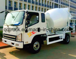 Small Cement Mixer Truck, 3-4 cbm Small Concrete Mixer Truck pictures & photos