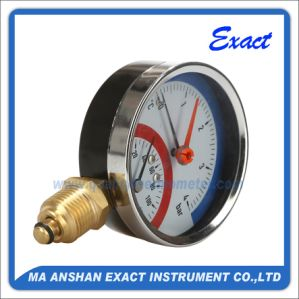 Temperature and Pressure Gauge/Thermo Manometer pictures & photos