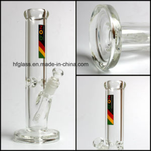 9mm Thick Zob Heady Hookah Shisha Water Pipes Straight Tube Fancy Glass Smoking Pipe Hookah pictures & photos
