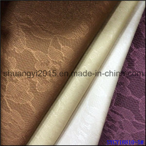 Semi-PU Leather Upholstery and Decoration for Wall Cover Popular pictures & photos