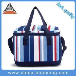 Thermal Custom Aluminium Foil Food Delivery Insulated Lunch Cooler Bag pictures & photos