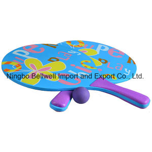 Professional Wood Beach Tennis Racket Wooden Racket Set pictures & photos