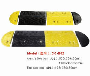 Rubber Speed Bumps Traffic Barrier pictures & photos