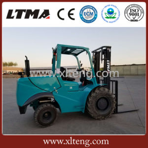 Ltma 3t off-Road All Terrain Forklift with Good Quality pictures & photos