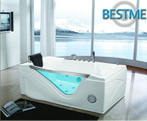 Sanitary Ware Freestanding Whirlpool Acrylic Massage Bath Tub for Bathroom (BT-A1018) pictures & photos