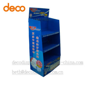 Cardboard Floor Display Stand Pop Display Shelf for Retail pictures & photos