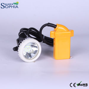 Waterproof 3ah Miners Safety Cap Lamp LED with Rechageable Battery