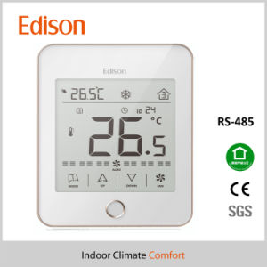 LCD Touch Screen Programmable Room Thermostat RS485 Modbus pictures & photos