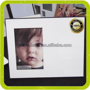 New Blank MDF Wood Dye Sublimation Photo Frames pictures & photos