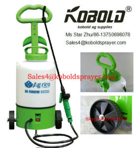 12L Trolley Battery Sprayer for Garden pictures & photos