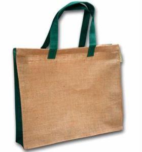 Thin Style Short Handle Shopping Jute Bags pictures & photos
