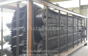 High Quality Angles From 0-90 Degrees Sidewall Conveyor Belt and Steep Angle Conveyor Belt pictures & photos