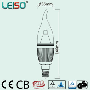 Unique 5W CREE Chip Scob E14 LED Candle Bulb (LS-B305-GB) pictures & photos